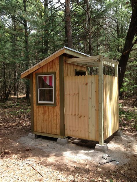 Free Plans For Building A Outhouse With Shower