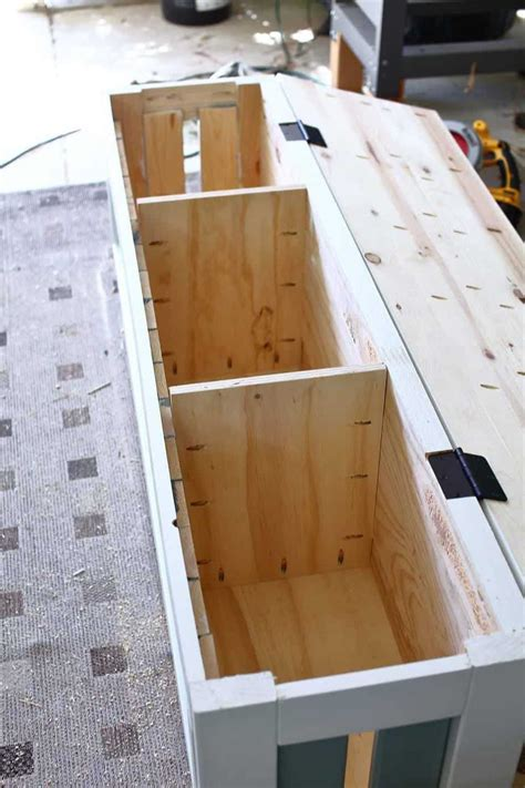 Free Plans For Built In Storage Bench