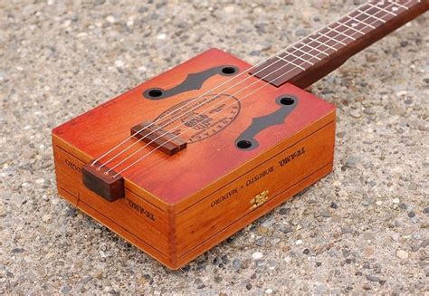 Free Plans For Cigar Box Guitar
