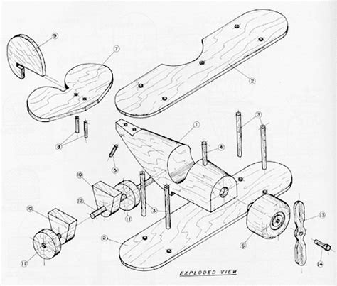 Free Plans For Making A Wooden Toy Biplane Plans