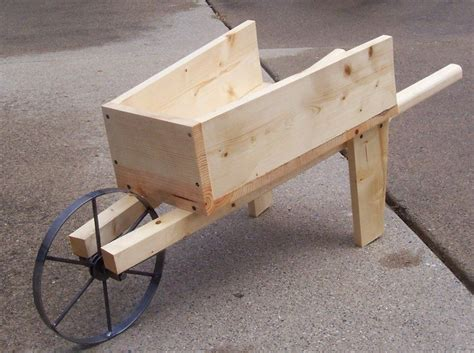 Free Plans For Old Wooden Wheelbarrow