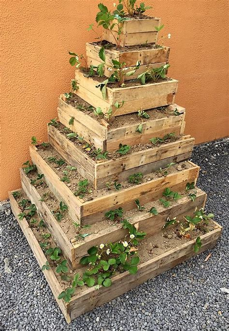 Free Plans For Pallet Wood Planters