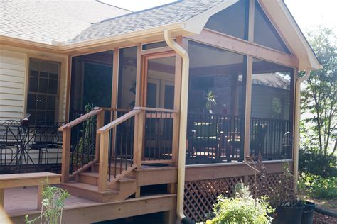 Free Plans For Screened In Porches