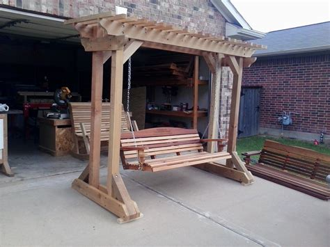Free Plans To Build An Arbor Swing Stand
