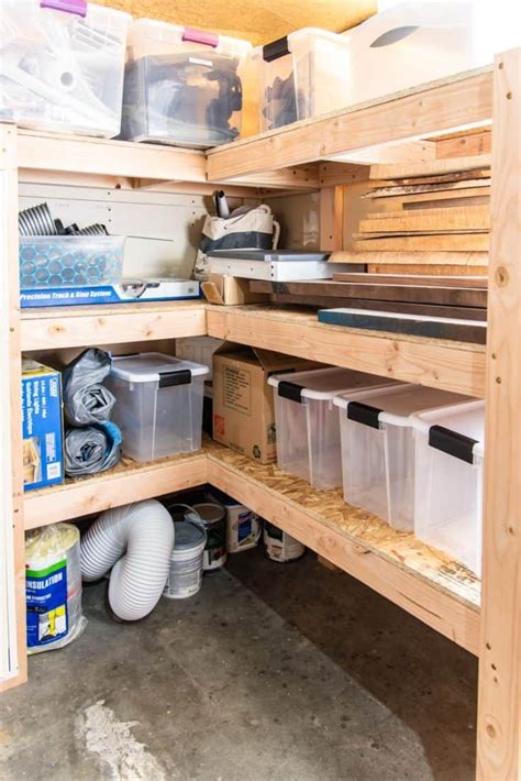 Free Plans To Build Garage Shelves