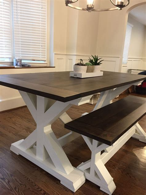 Free Plans To Build Kitchen Table