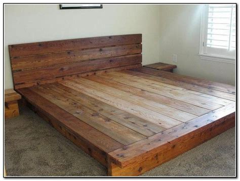 Free Platform Bed Plans Do It Yourself