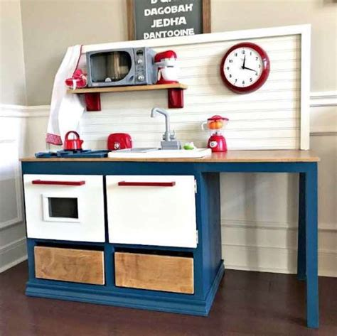 Free Play Kitchen Woodworking Plans