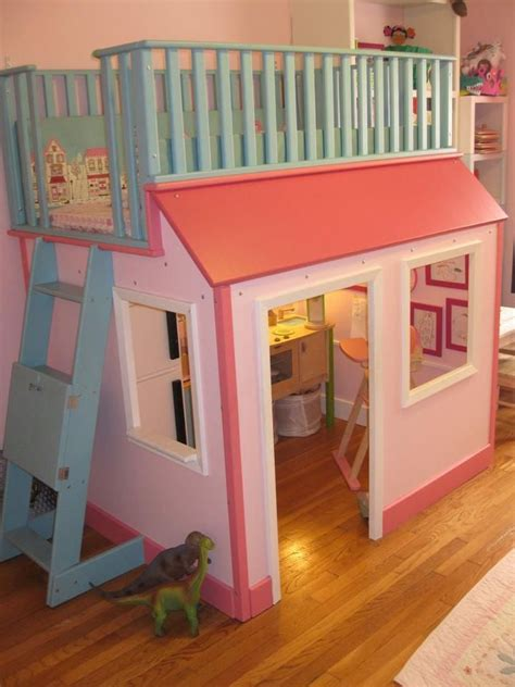 Free Playhouse Bunk Bed Plans