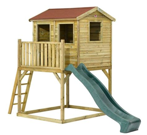 Free Playhouse On Stilts Plans To Build