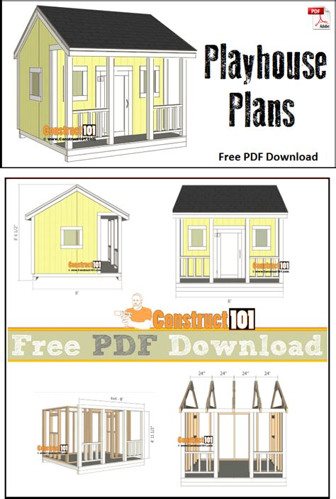 Free Playhouse Plans Material List