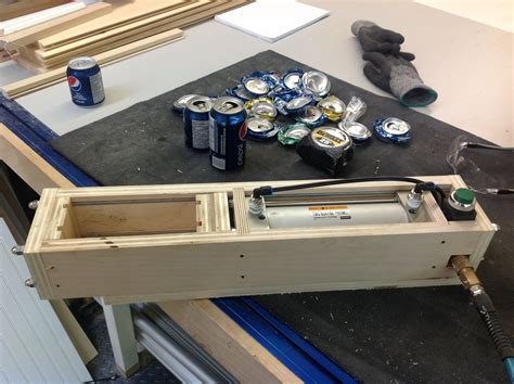 Free Pneumatic Can Crusher Plans