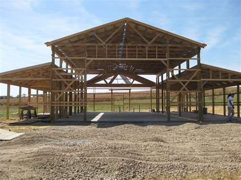 Free Pole Barn Framing Plans