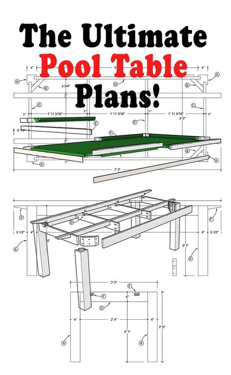 Free Pool Table Plans Make Knife