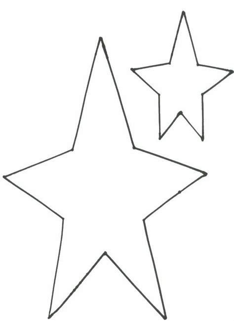Free Primitive Wood Star Patterns To Cut
