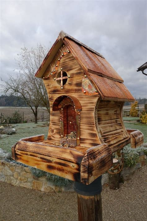 Free Printable Bird House Plans Rustic