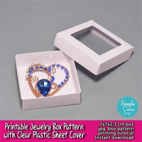 Free Printable Jewelry Box Patterns Beginners