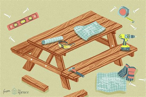 Free Printable Round Picnic Table Plans