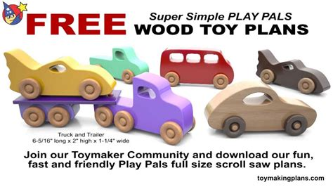 Free Printable Wood Toy Plans