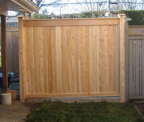 Free Privacy Fence Plans