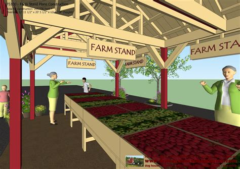 Free Produce Stand Plans