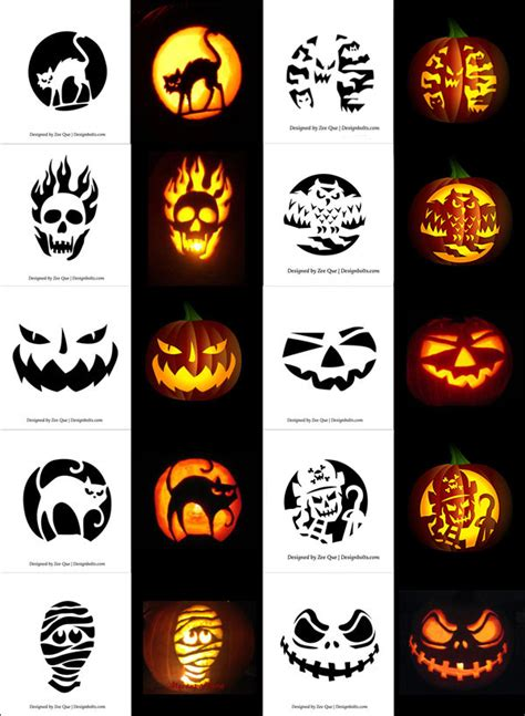 Free Pumpkin Carving Plans