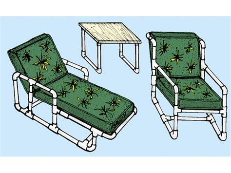 Free Pvc Outdoor Furniture Plans
