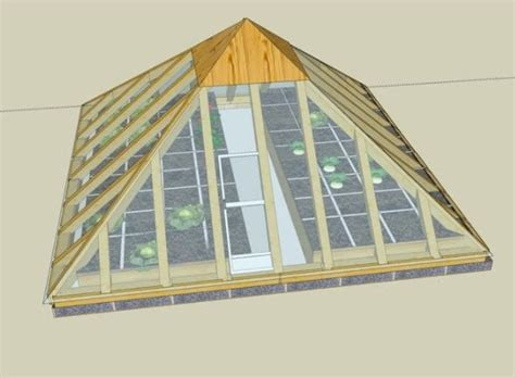 Free Pyramid Greenhouse Building Plans