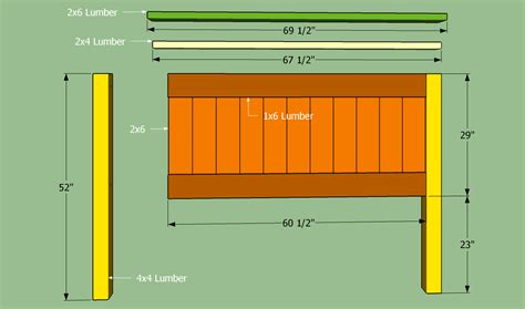 Free Queen Size Headboard Plans