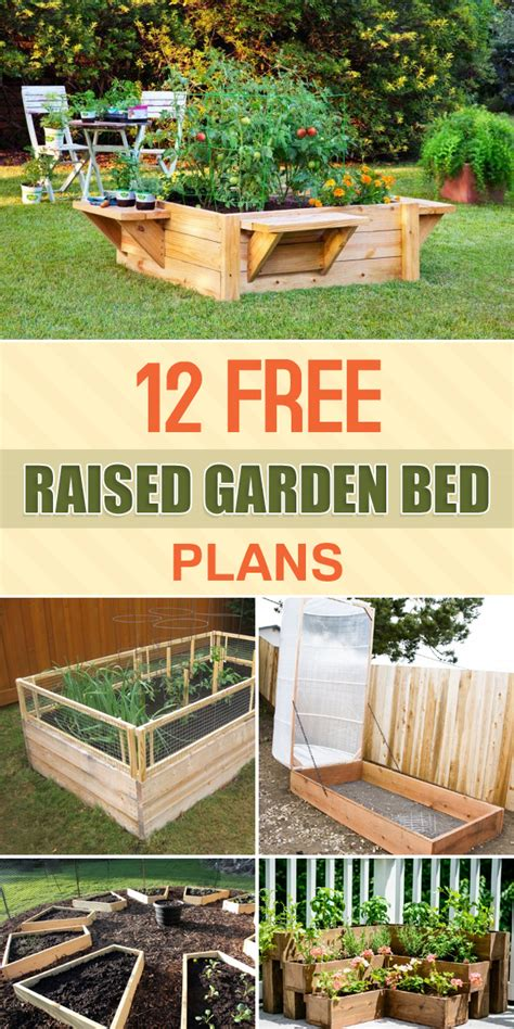 Free Raised Garden Bed Plans
