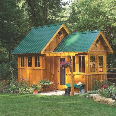 Free Rustic Shed Plans