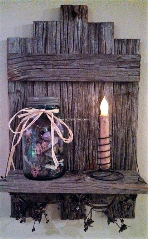Free Rustic Wood Craft Ideas