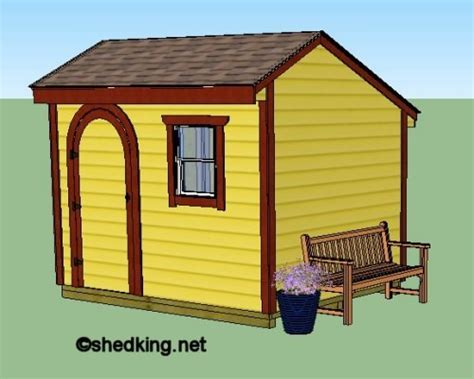 Free Saltbox Shed Plans 10x8 Garage