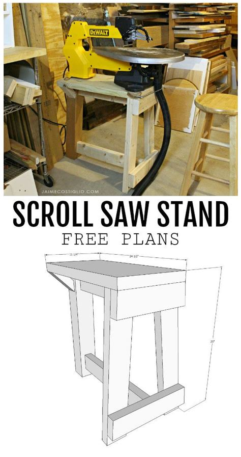 Free Scroll Saw Table Plans