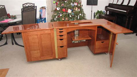 Free Sewing Machine Cabinet Woodworking Plans