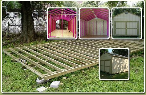 Free Shed Building Plans 12x24