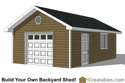 Free Shed Building Plans 16x24