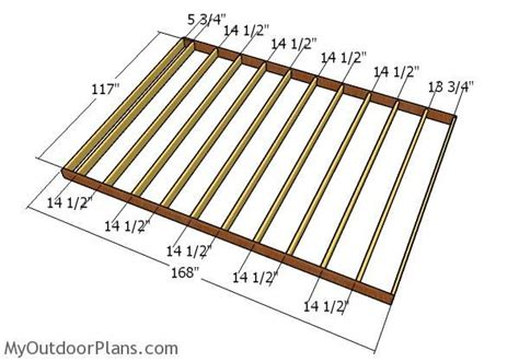 Free Shed Plans 10x14