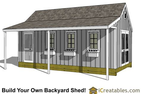 Free Shed Plans 12x24