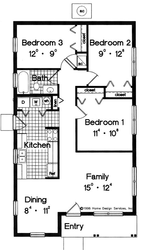 Free Simple Home Building Plans