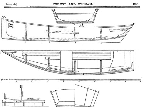 Free Skiff Boat Building Plans