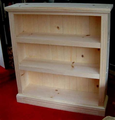 Free Small Bookcase Plans