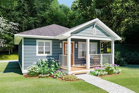 Free Small House Plans With Porches