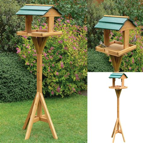 Free Standing Bird Table Plans