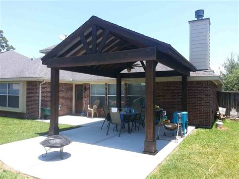 Free Standing Covered Pergola Plans