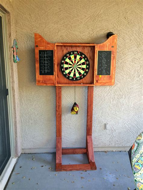Free Standing Dart Cabinet Plans