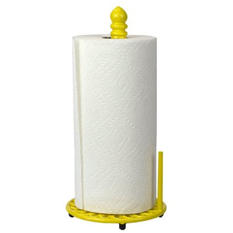 Free Standing Iron Paper Towel Holder