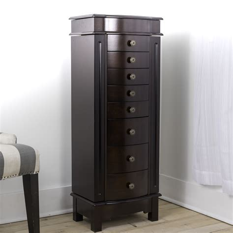 Free Standing Jewelry Armoire Plans