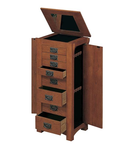 Free Standing Jewelry Chest Plans