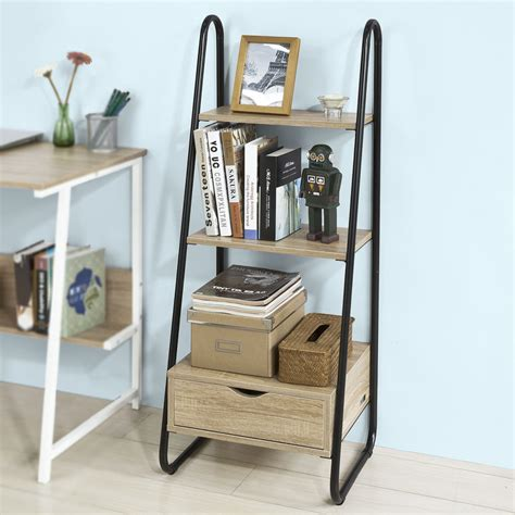 Free Standing Ladder Bookshelf